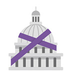 Capitol-building-purple-tape