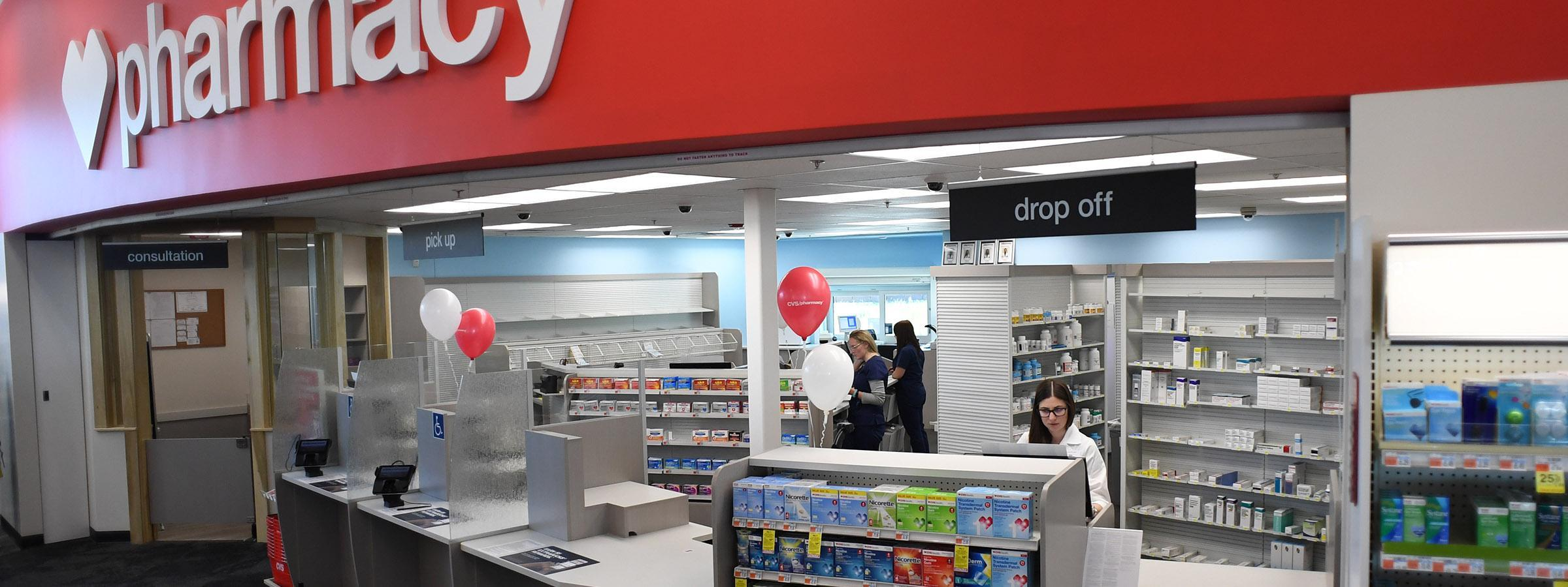 Clinical pharmacists storefront.