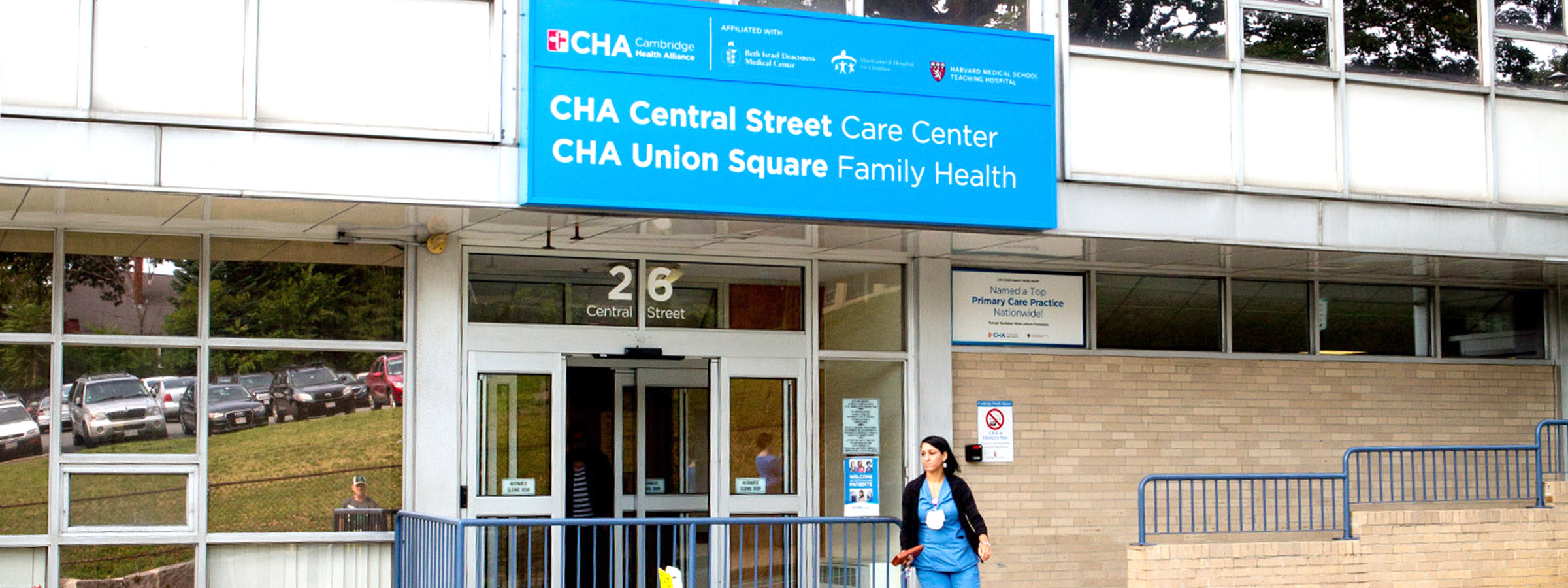 photo of nitzali in front of CHA Union Square