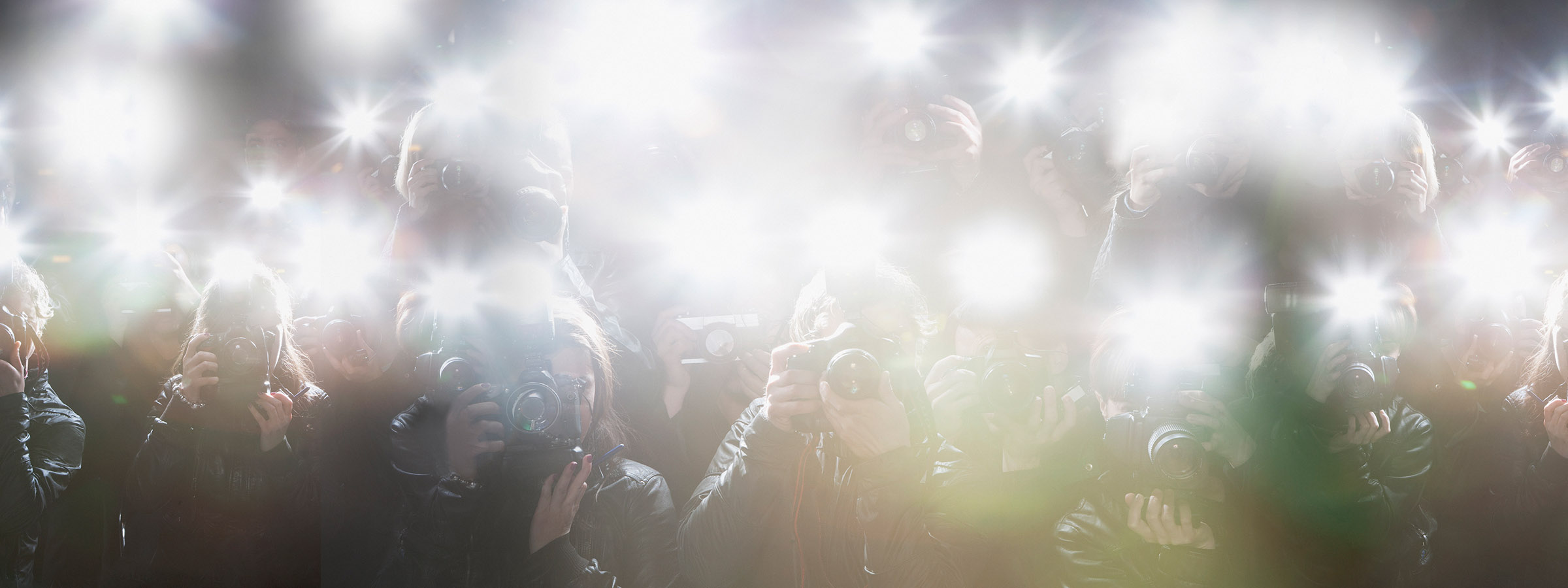 image of paparazzi cameras