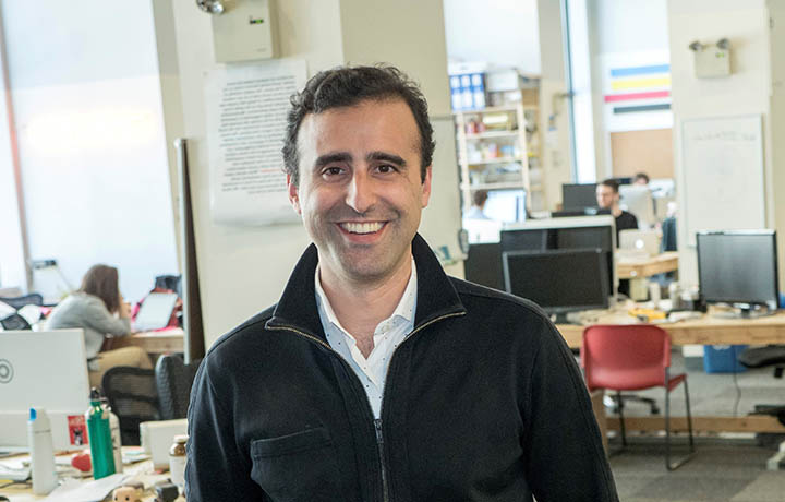 Photograph of Nomad Health founder Alexi Nazem
