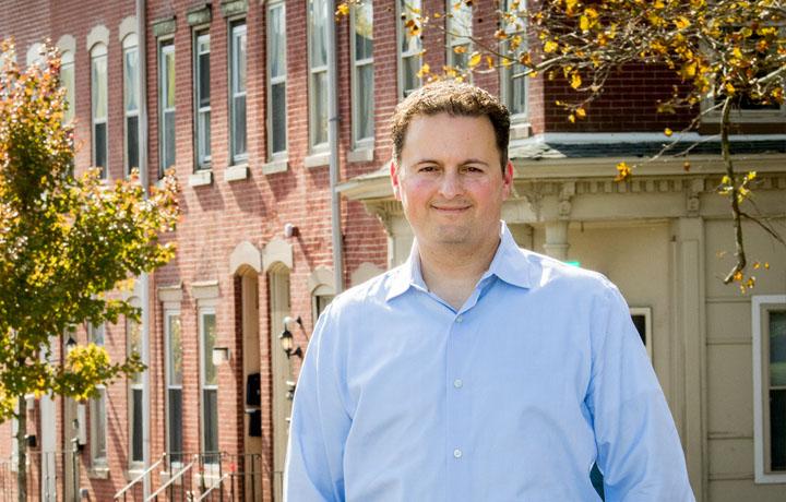 Photograph of Trenton Health Team executive director Gregory Paulson