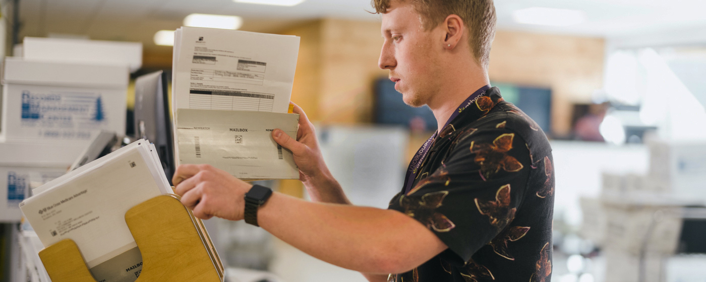 Service Operations sorting bills